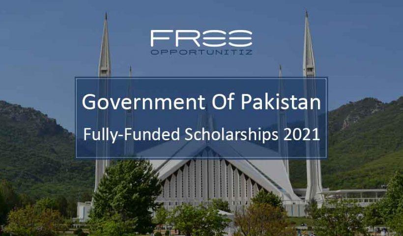 Pakistan Scholarships